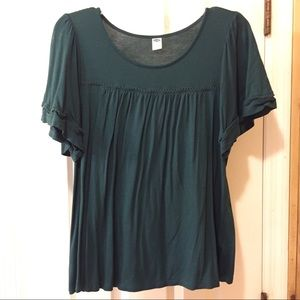 Dark Teal-Green Old Navy Top